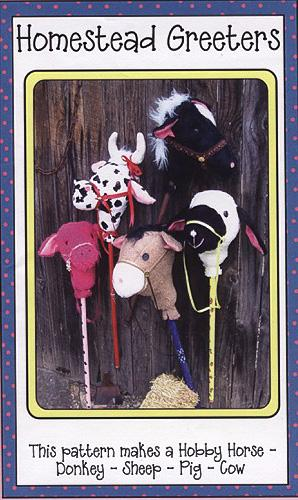 Homestead Greeters 5-In-One Plush Hobby Horse Pattern