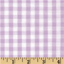 Gingham 1/4'' Checks Galore Lilac