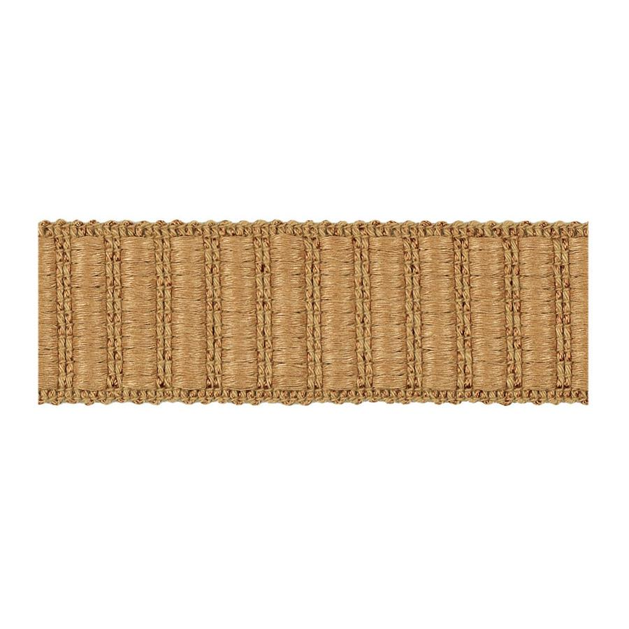 "Fabricut 1.5"" Winnowing Trim Wheat"