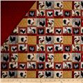 Rooster Inn Double Sided Quilted  Patchwork Multi