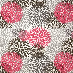 Premier Prints Indoor/Outdoor Blooms Preppy Pink