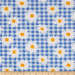 Gin Dai Cotton Poly Broadcloth Blue