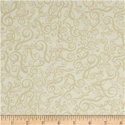 Kanvas The Music In Me Jumbled G-Clef Cream/Beige