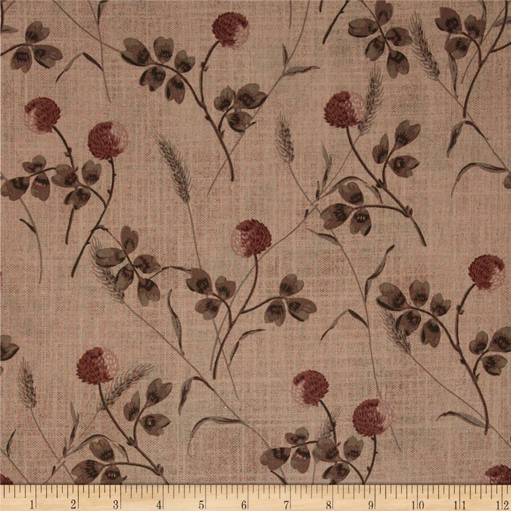 Centenary Collection Large Floral Tan