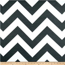 RCA Chevron Sheers Black/White Fabric
