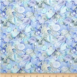 Moda Coastal Breeze Shell Collection Sky
