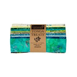 "Timeless Treasures Tonga Treats Lagoon 10"" Square"