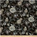 Bali Hai Floral Seaside Black