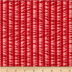 Sew What Zebra Stripe Red