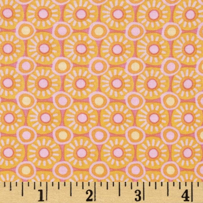 Bloom Crazy Geo Circles Orange