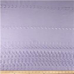 Single Scalloped Eyelet Lilac
