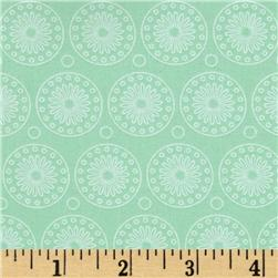 Riley Blake Willow Organic Medallion Green