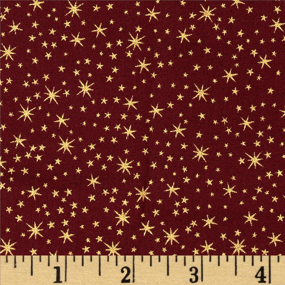 Holiday Metals Metallic Stars Wine