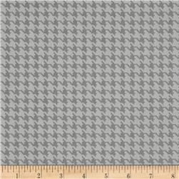 The Dog Gone It Collection Houndstooth Stone