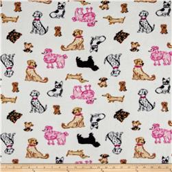 Polar Fleece Puppies Multi