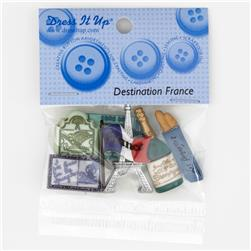 Dress It Up Embellishment Buttons  France