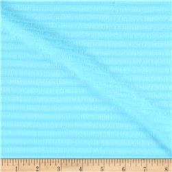 Rib Cotton Knit Baby Blue