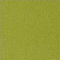 Kaufman Flannel Solid Leaf Green Fabric