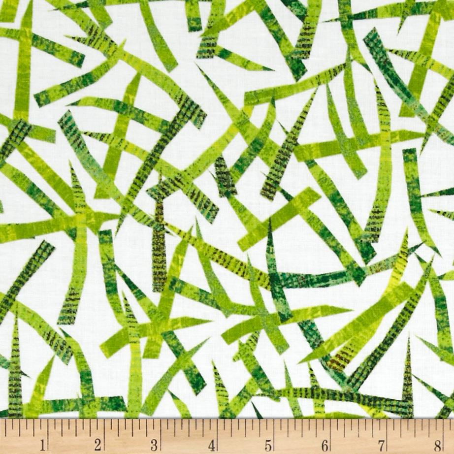 The Very Hungry Caterpillar Dots Grass Green