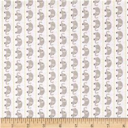 Riley Blake Oh Boy! Elephants Grey Fabric