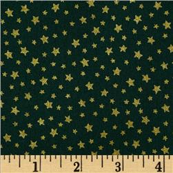 Christmas 2014 Metallic Coordinates Star Green
