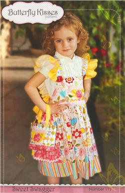 Butterfly Kisses Sweet Swagger Girls Dress Pattern