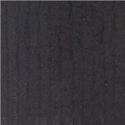 10 Ounce Chenille Black Fabric