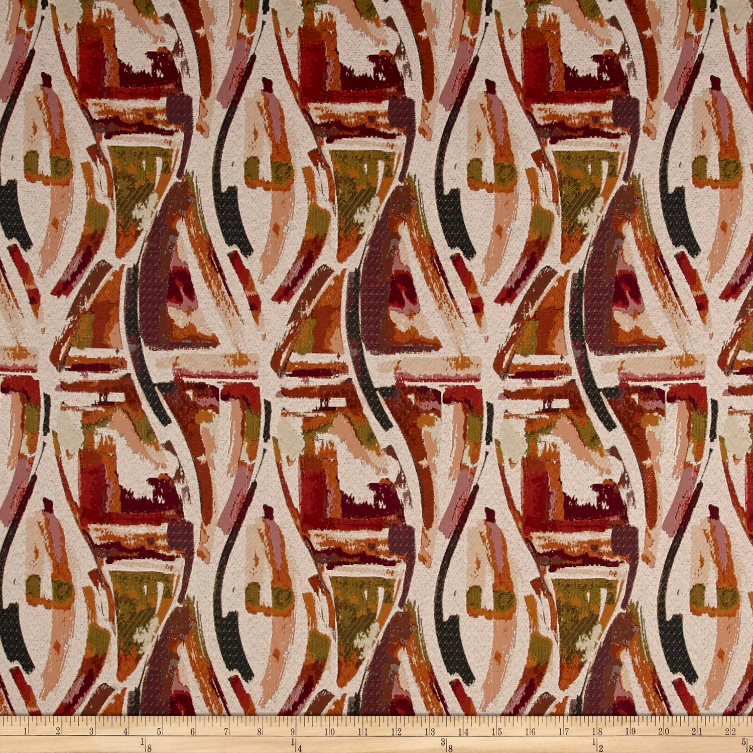 Richloom Dauntles Jacquard Blossom Fabric by TNT in USA
