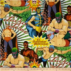 Folkorico Lucha Libre Wrestlers Natural