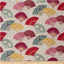 Fabricut Exotic Fans Mulberry