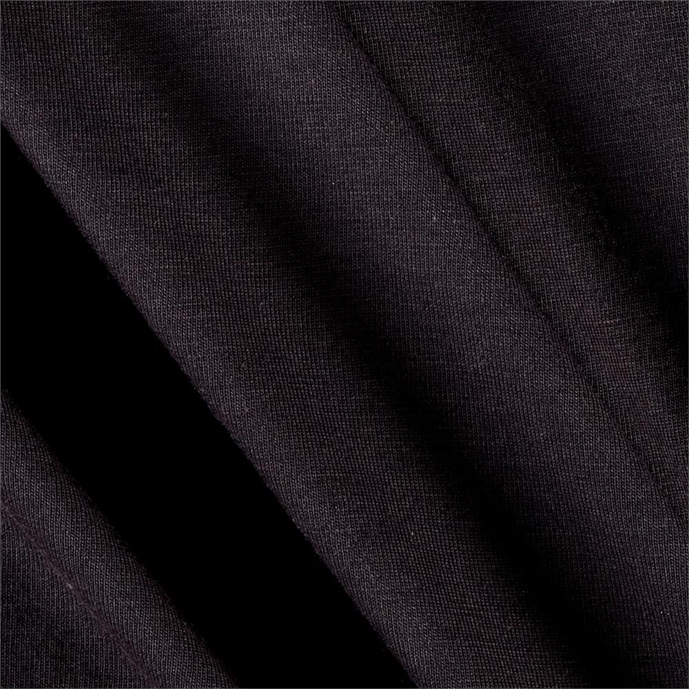 Rayon Jersey Knit Solid Dark Gray