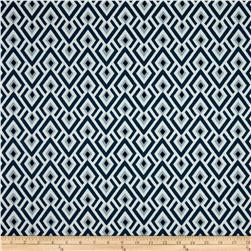 Premier Prints Archery Twill Navy/Weathered Blue