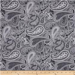 Key to My Heart Paisley Grey