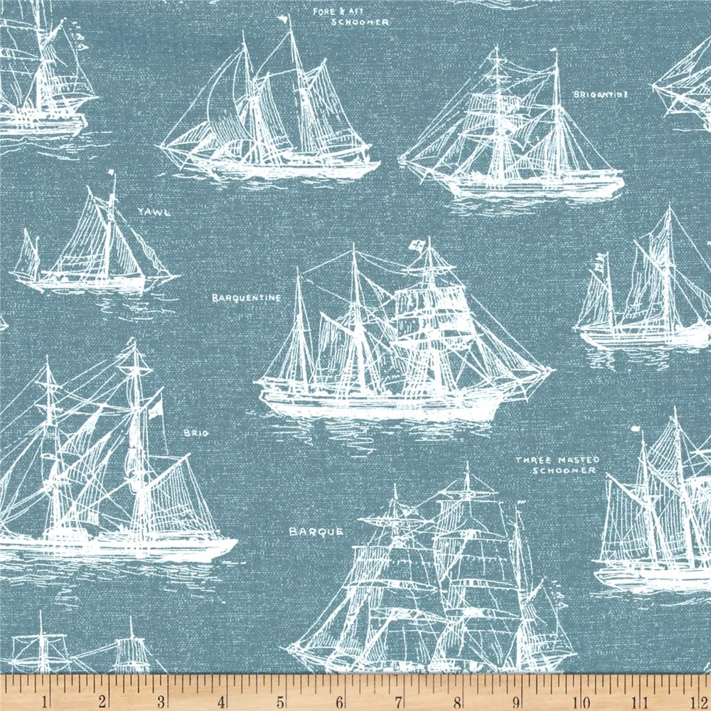 Kaufman Down By The Sea Ships Slate