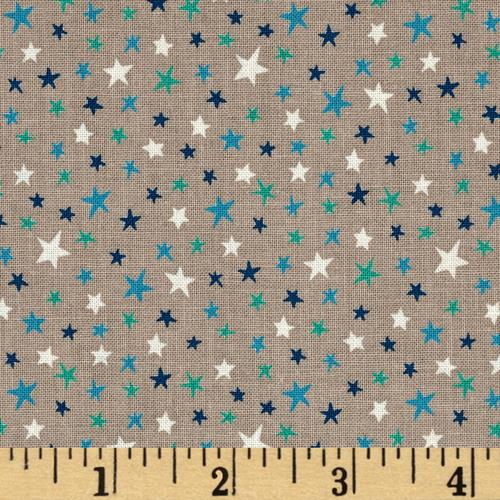 Not So Wild West Stars Dark Gray