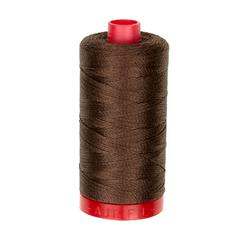 Aurifil 12wt Embellishment and Sashiko Dreams Thread Medium Bark