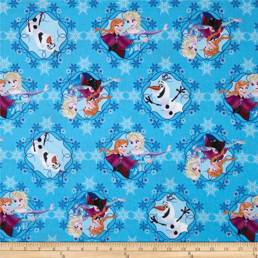 Disney Frozen Sisters Ice Skating Framed Blue - Discount ...