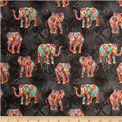 Tribal Instincts Elephant Tribe Bright Colors