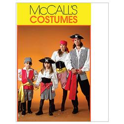 McCall's Misses'/Men's / Children's / Boys' / Girls' Costumes Pattern M4952 Size ADT