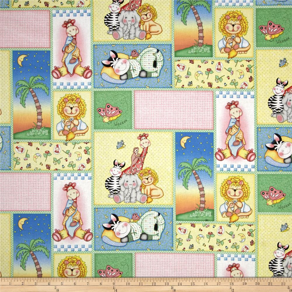 Nursery bazooples sweet dreams patch multi discount for Nursery fabric