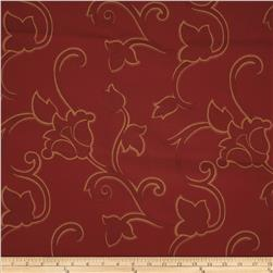 Robert Allen Promo Grand Cayman Jacquard Poppy