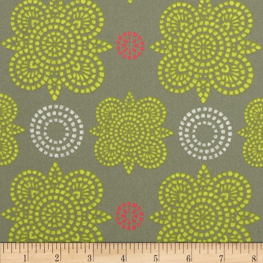 Ty Pennington Home Decor Sateen Fall 11 Taj Green