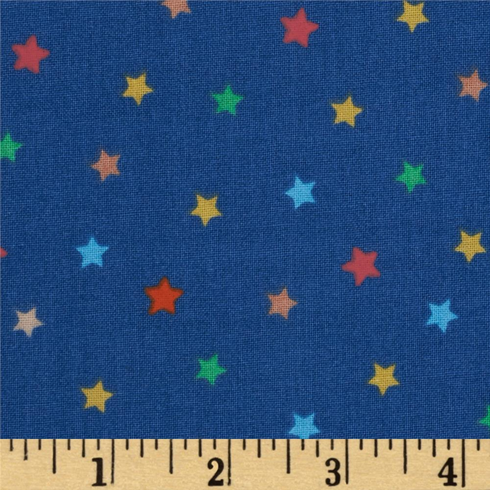 Jungle Animals Stars Blue