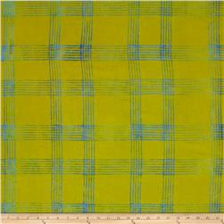 Alison Glass Handcrafted Batiks Chroma Plaid Citrus