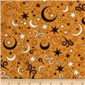 A Haunting We Will Go Stars Orange