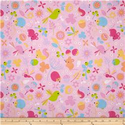 Riley Blake Wildflower Meadow Main Pink