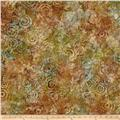 Kaufman Natural Formation Batiks Flower Burst Meadow