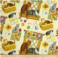 Purrfect Notions Cats & Sewing Cream