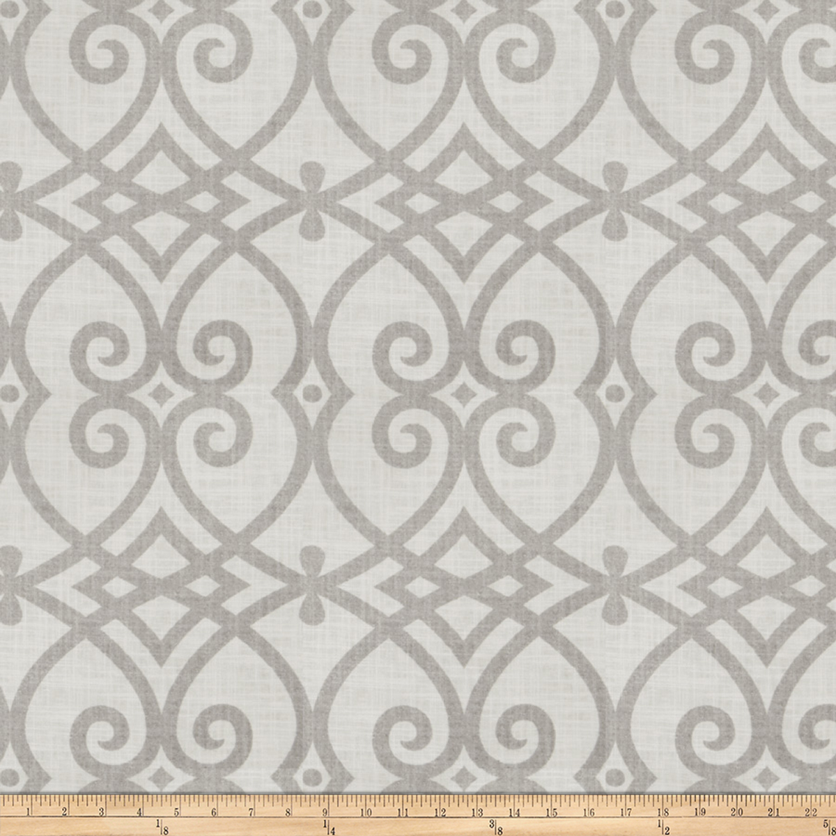 Jaclyn Smith 02616 Linen Dove Gray Fabric by Fabricut in USA