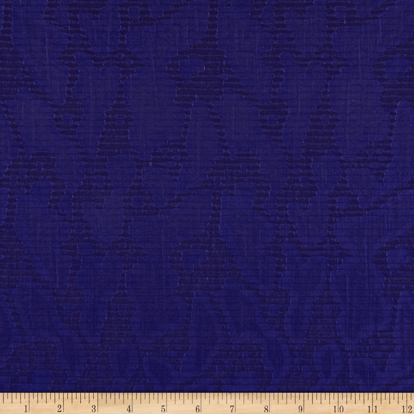 Harlow Jacquard Shirting Royal Blue Fabric